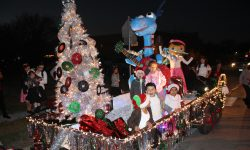 "Angelina Pediatrics ""Rockin' Round the Christmas Tree"" Float"
